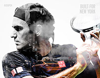 2019 US Open | Built for New York Double Exposures