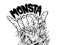 "Monsta Surf ""Shred Till Dead"""