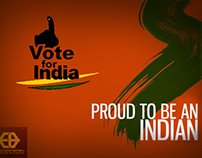 Vote for India Poster