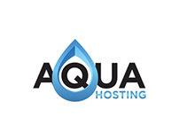 Aqua Hosting Logo