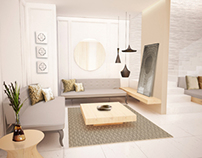 Interior & Furniture 3D render