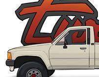 Toyota Pickup Turbo Render
