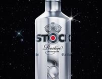 Stock Prestige Vodka World Cup Limited Edition bottle