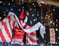 Ningyo Johruri the Japanese Puppet play.