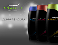 Anagen Logo and Packaging Design