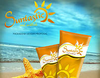 Suntastic Sun Block Identity and Packaging Design