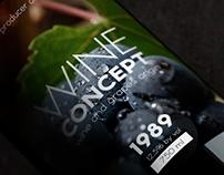 Wine - Concept design