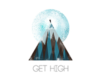 Get High T-Shirt Design