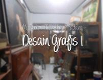 Graphic Design 1 Task Exhibition : My Room
