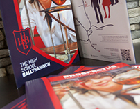 High School Ballynahinch - Prospectus Folder/Booklet