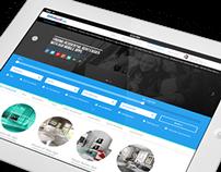 Infokost.net Website Redesign
