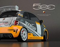 Abarth 500 Racing Car