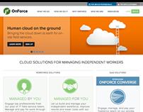 OnForce Public Website
