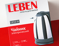Leben. Household appliances.