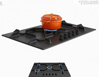 Volcano Built-in Hob Design- AdesignAward Bronze