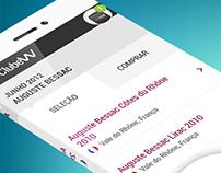 ClubeW app - wine.com.br