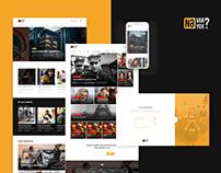 "Web Design for blog and Game site   ""Ne var ne yox?"""