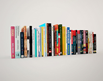 40 Free Fully Textured Book Models