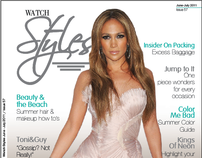 "Styles Magazine "" issue 57"" ""june - july 2011"""