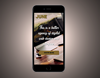 June Web Design - Agency