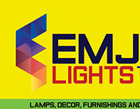 EMJEL Lights Logo Design