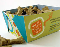 Fetch and Go Dog Food Packaging