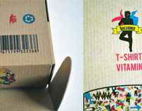 Package design for T-shirt