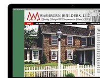 Website Design, Washburn Builders