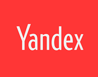 Yandex - main page UI re-design.