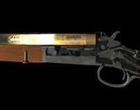 J. Stevens Model 108 cut-away animation