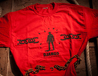 DJANGO UNCHAINED MOVIE PROMO TSHIRT