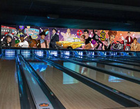 Bowling Alley Mural