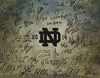 ND Spring Football Posters