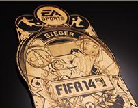 EA Sports - FIFA 14 Pressepokal