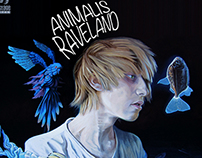 "Cover Art for ""Raveland"" by Animalis"