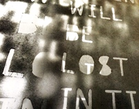 Typographic Poster 2 - Blade Runner