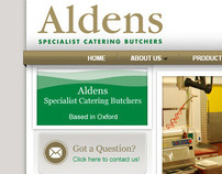 Aldens Butchers - Website & CMS