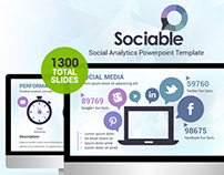 Sociable Powerpoint Template