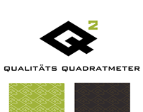 Logotype for Qualitäts Quadratmeter by SEG