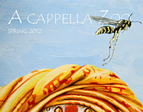 """A capella Zoo""  Issue 8 Spring Cover"