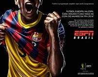 Campanha ESPN - Futebol Europeu 2014