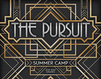 Art Deco Poster | The Pursuit Summer Camp