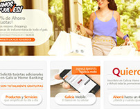 BANCO GALICIA Website pitch