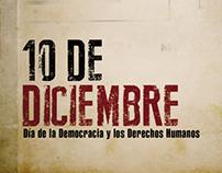 DIA DE LA DEMOCRACIA Y LOS DERECHOS HUMANOS