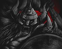 Viking - Seventh.Ink Sixth Anniversary Design