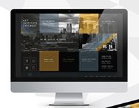Art Institute of Chicago | Concept Website Design