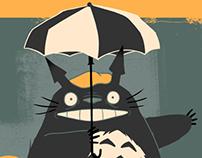 Miyazaki Film Posters