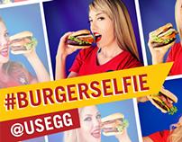 #BurgerSelfie Campaigne