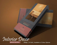 Interior Design Brochure Template | Modern Design