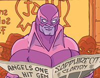 The Purple Stranger